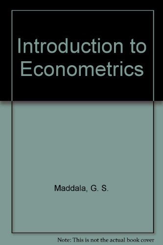9780029460467: Introduction to Econometrics