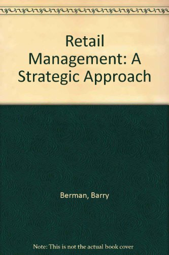 9780029460566: Retail Management: A Strategic Approach