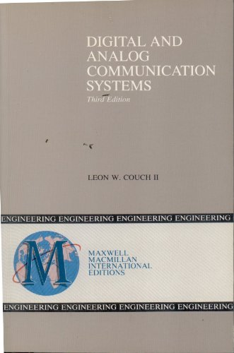 9780029460627: Digital and Analog Communication Systems