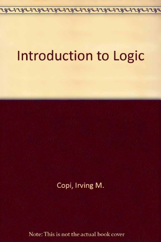 9780029461006: Introduction to Logic