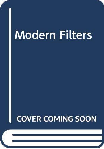 9780029461532: Modern Filters