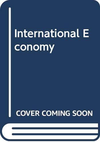 9780029461709: International Economy