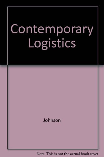 9780029462188: Contemporary Logistics