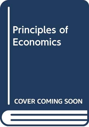 9780029462454: Principles of Economics