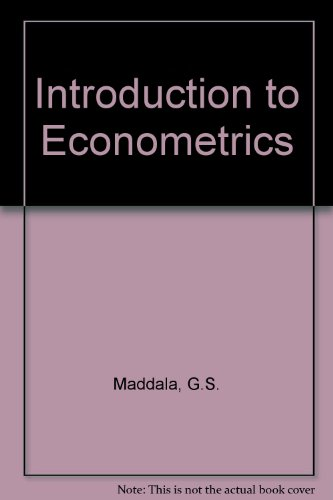 9780029463154: Introduction to Econometrics