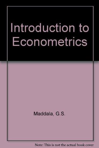 9780029463154: Introduction to Econometrics