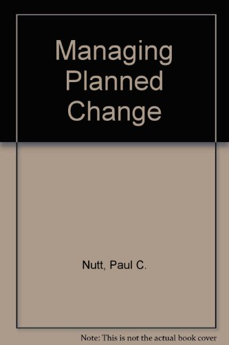 9780029463581: Managing Planned Change