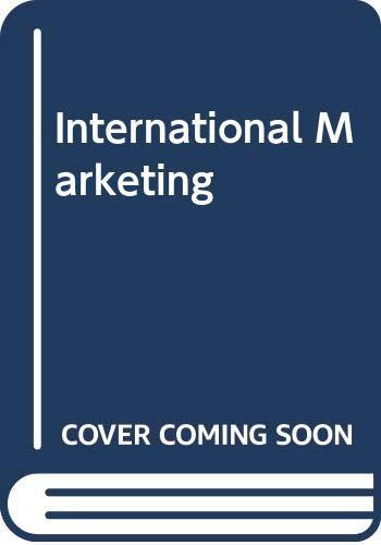 9780029463710: International Marketing
