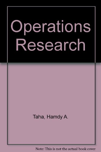 9780029465011: Operations Research