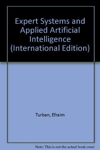 9780029465653: Expert Systems and Applied Artificial Intelligence (International Edition)
