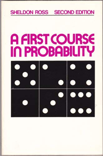 9780029466506: First Course in Probability