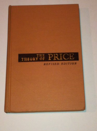 9780029466704: The Theory of Price