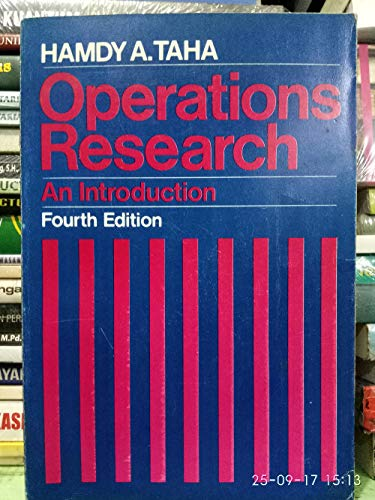 9780029467503: Operations Research: An Introduction