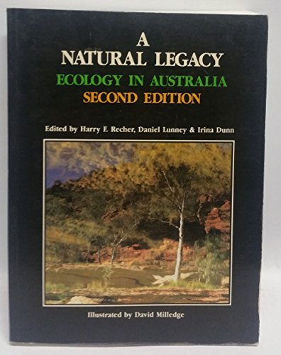 9780029468265: A Natural Legacy - Ecology in Australia