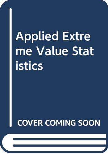 9780029476307: Applied Extreme Value Statistics