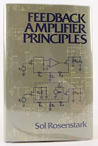 9780029478103: Feedback Amplifier Principles