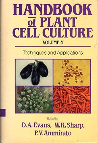 9780029479407: Handbook of Plant Cell Culture: v. 4