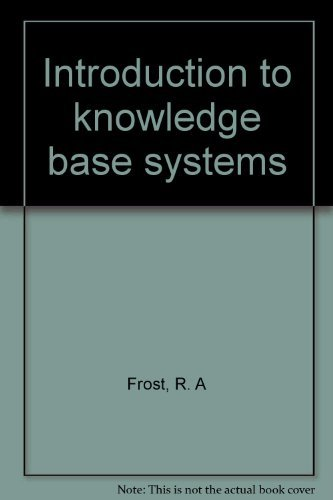 9780029484906: Introduction to knowledge base systems