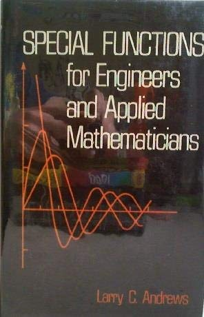 9780029486504: Special Functions for Engineers and Applied Mathmaticians