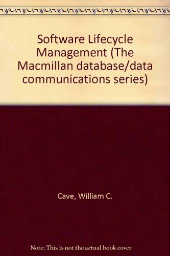 9780029492109: Software Lifecycle Management (The Macmillan database/data communications series)