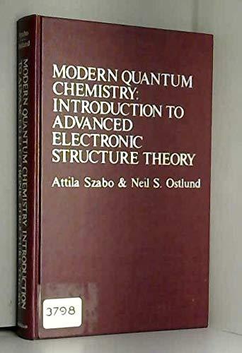 9780029497104: Modern Quantum Chemistry