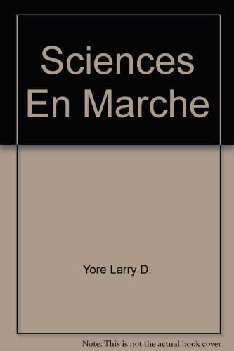 9780029539675: Sciences En Marche