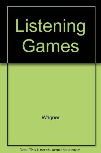 9780029580103: Listening Games