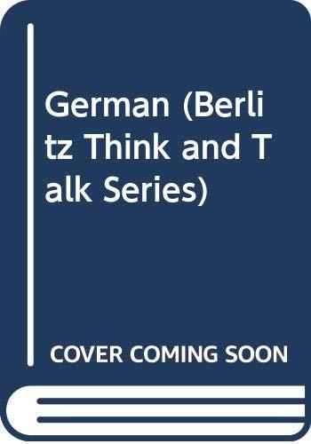 9780029618608: German (Berlitz Think and Talk Series) (German Edition)