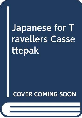 9780029628508: Japanese for Travellers Cassettepak