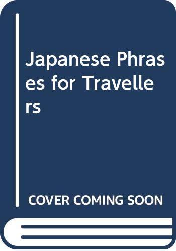 9780029637104: Japanese Phrase Cassettes for Travellers