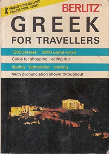 9780029640401: Berlitz Greek for Travellers