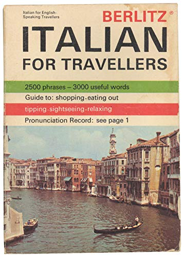 9780029640609: Berlitz Italian for Travellers