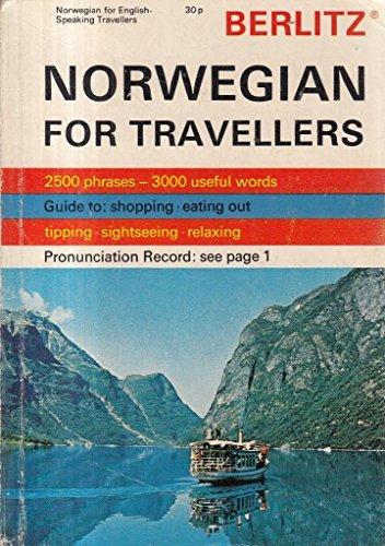 9780029640807: Berlitz Norwegian for Travellers