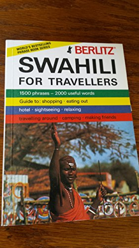 9780029642207: Berlitz Swahili for Travellers