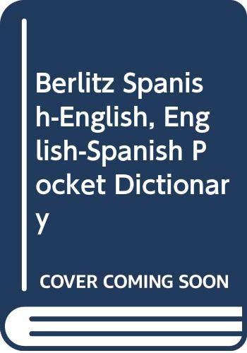 9780029644003: Berlitz Spanish-English, English-Spanish Pocket Dictionary