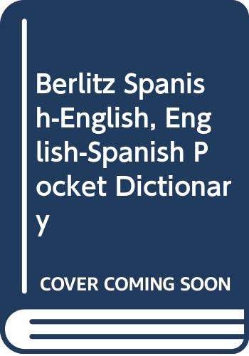 9780029644003: Berlitz Spanish-English, English-Spanish Pocket Dictionary
