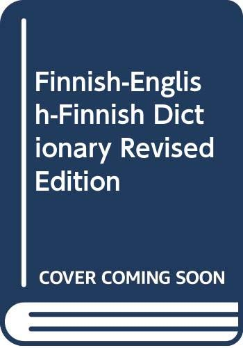 9780029645802: Finnish-English-Finnish Dictionary Revised Edition