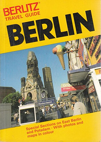 9780029690406: Berlin (Berlitz travel guide)