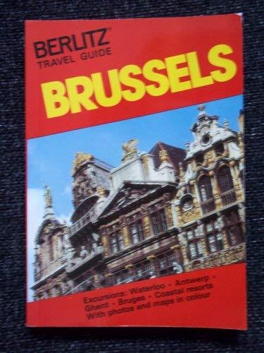 9780029690505: Brussels (Berlitz travel guide)