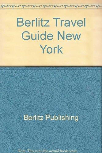 Berlitz Travel Guide New York: STAFF OF EDITIONS BERLITZ.