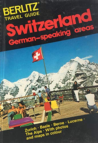 9780029695401: Switzerland German Speaking Areas