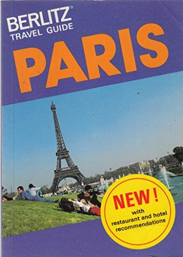 9780029696705: Berlitz Travel Guide: Paris