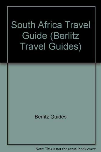 9780029698808: South Africa Travel Guide (Berlitz Travel Guides)