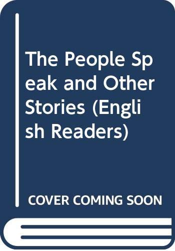 9780029703502: The People Speak and Other Stories (English Readers)