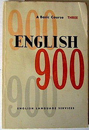 9780029711606: English Series 900: English as a Second Language Bk. 3