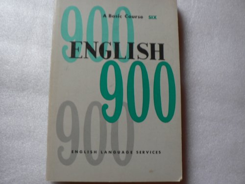 9780029711903: English 900 Series, Book 6 (English Language Series) (Bk. 6)