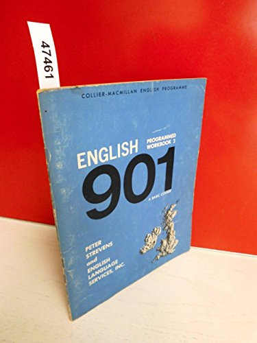 9780029715802: English 901: Workbook Bk. 2: A Basic Course