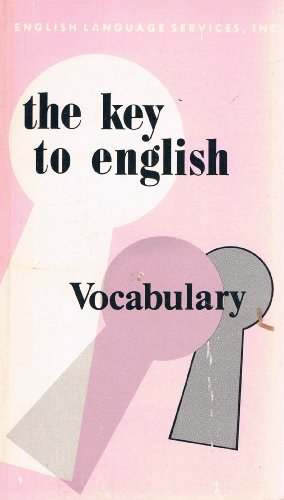 9780029717509: The Key to English Vocabulary