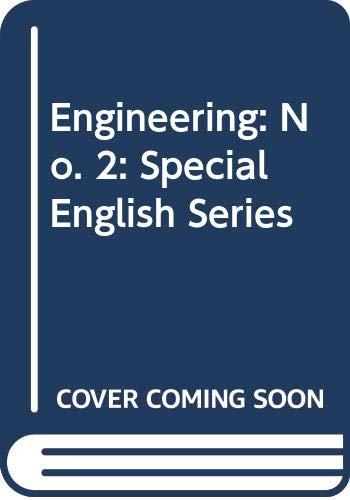 9780029719701: Engineering: No. 2: Special English Series