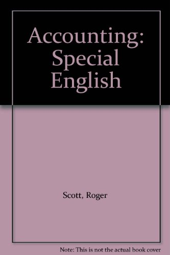 9780029721605: Accounting: Special English